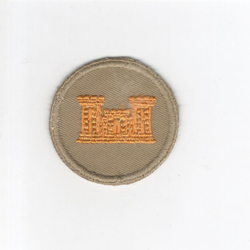 WW 2 US Army Engineer Cap Patch Inv# G097