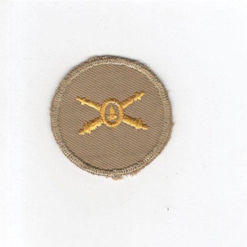 WW 2 US Army Coast Artillery Cap Patch Inv# G092