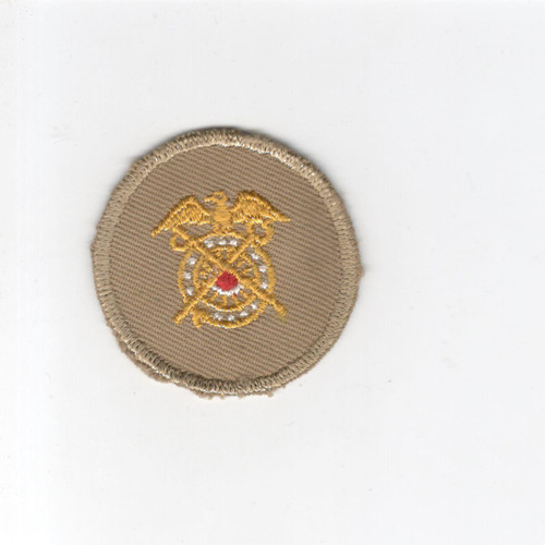 WW 2 US Army Quartermaster Corps Cap Patch Inv# G103
