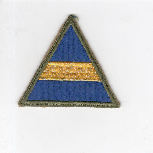 "HTF 1947 US Army Universal Military Training 2-1/4"" Cap Patch Inv# J919"