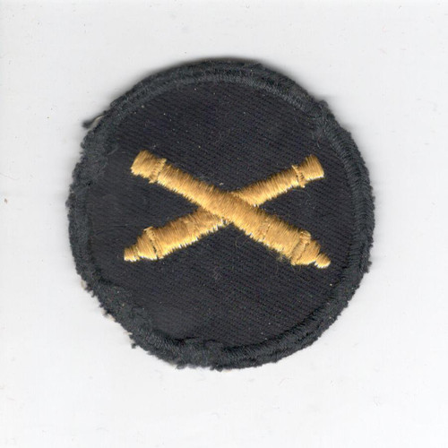 WW 2 US Army Artillery Corps Cap Patch Inv# X759