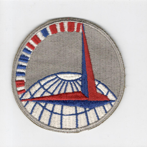 """3-3/4"""" WW 2 Army Air Force Air Transport Command Red Morse Code Patch Inv# H228"""