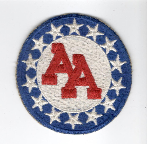 WW 2 US Army 14th Anti Aircraft Artillery Command Cotton Patch Inv# M071