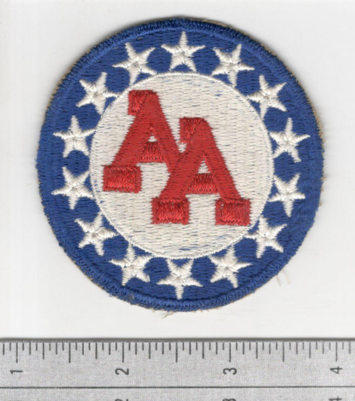 WW 2 US Army 14th Anti Aircraft Artillery Command Cotton Patch Inv# S756