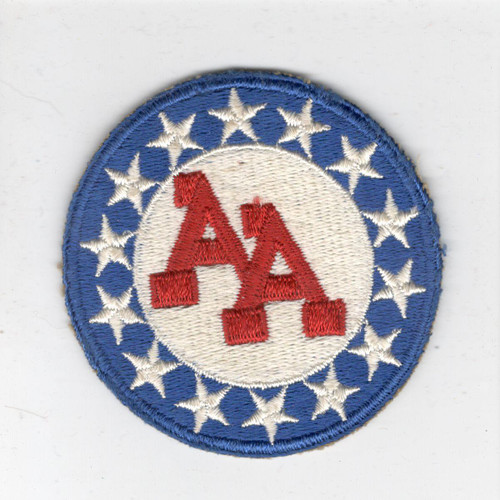 WW 2 US Army 14th Anti Aircraft Artillery Command Cotton Patch Inv# X263