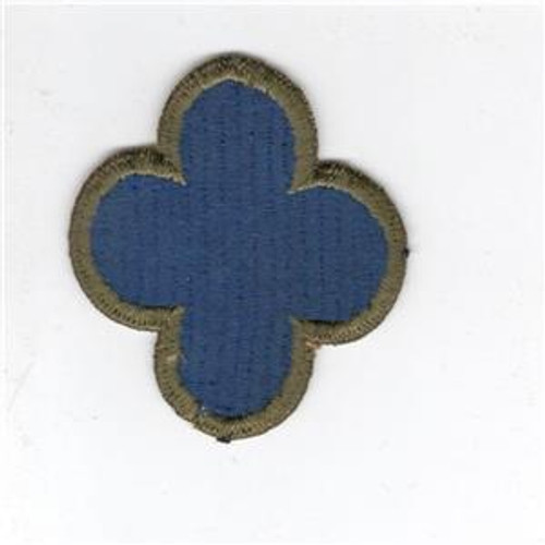 Ribbed Weave WW 2 US Army 88th Infantry Division OD Border Patch Inv# B603