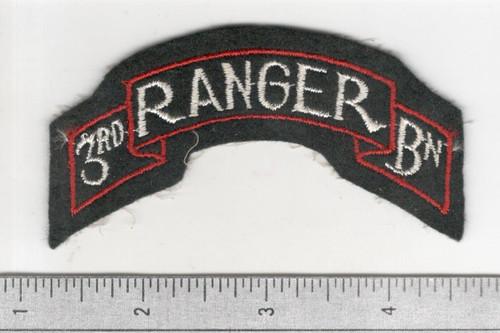 WW 2 US Army 3rd Ranger Battalion Patch Inv# B523