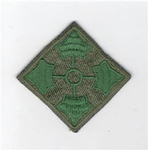 German Made US Army 4th Infantry Division Patch Inv# C819
