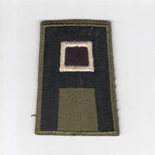 WW 2 US Army 1st Army Medical Greenback Patch Inv# F474