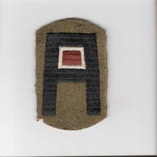 Pre WW 2 US Army 1st Army Medical Corps Wool Patch Inv# J096