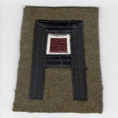 Pre WW 2 US Army 1st Army Medical Corps Wool Patch Inv# F469