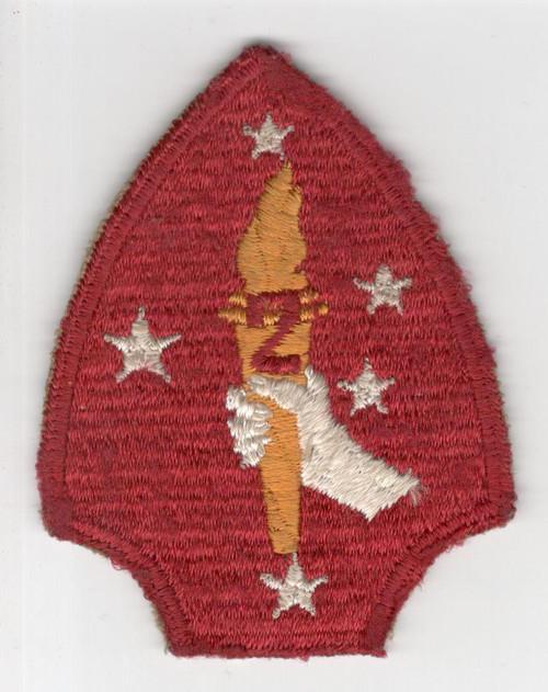 HTF Variation WW 2 USMC 2nd Marine Division Patch Inv# M994