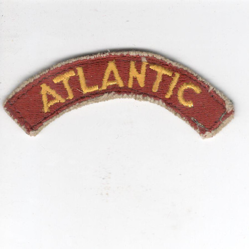 US Army Transportation Terminal Command ATLANTIC Tab Inv# Z137