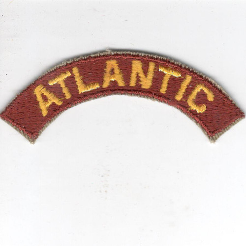 US Army Transportation Terminal Command ATLANTIC Tab Inv# Z138
