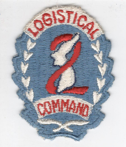 WW 2 1st Design US Army 2nd Logistical Command Patch Inv# Y865