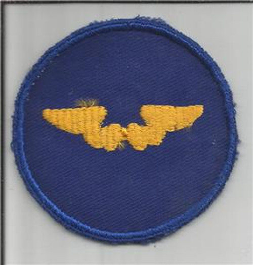 WW 2 US Army Air Force Flight Instructor Twill Patch Inv# S238