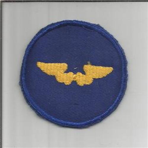WW 2 US Army Air Force Flight Instructor Twill Patch Inv# B022