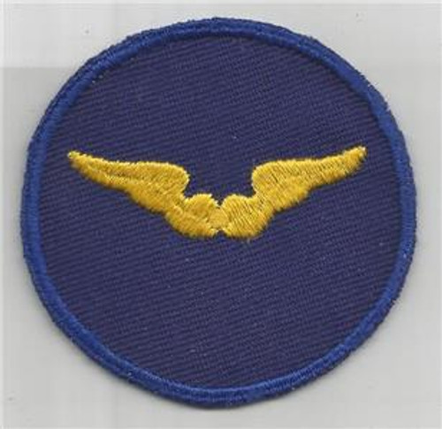 WW 2 US Army Air Force Flight Instructor Twill Patch Inv# G995
