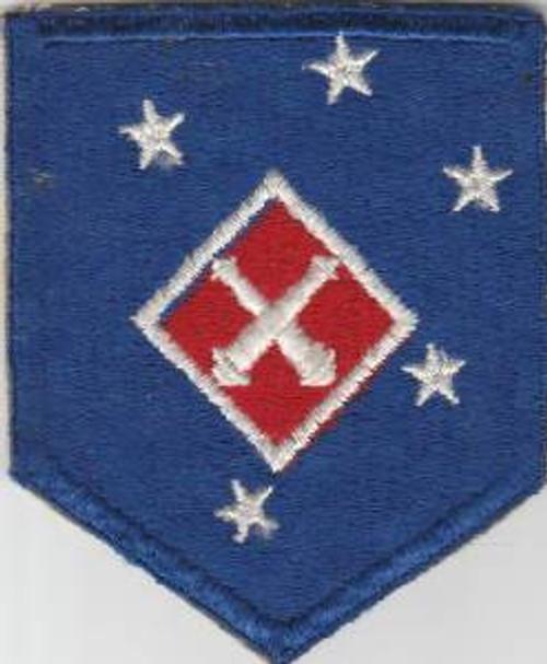 WW 2 USMC 1st Marine Amphibious Corps Artillery Battalion Patch Inv# M036