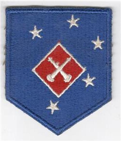 WW 2 USMC 1st Marine Amphibious Corps Artillery Battalion Patch Inv# X525