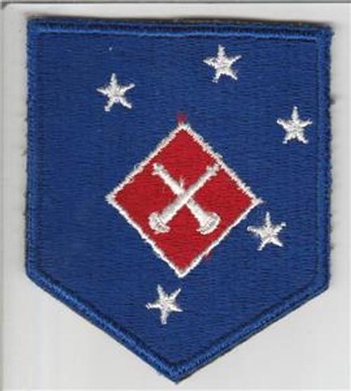 WW 2 USMC 1st Marine Amphibious Corps Artillery Battalion Patch Inv# S758