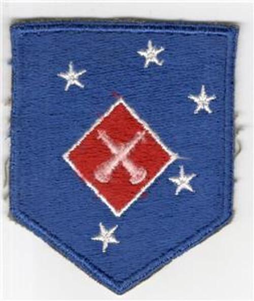 WW 2 USMC 1st Marine Amphibious Corps Artillery Battalion Patch Inv# M979