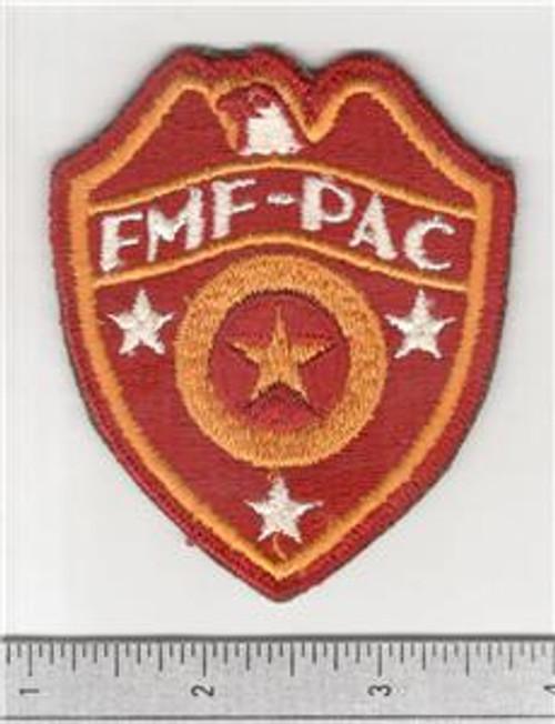 WW 2 USMC FMF-PAC ( Fleet Marine Force Pacific ) Supply Patch Inv# B835