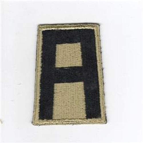 RARE British Made Gold & Black WW 2 US Army 1st Army Patch Inv# D412