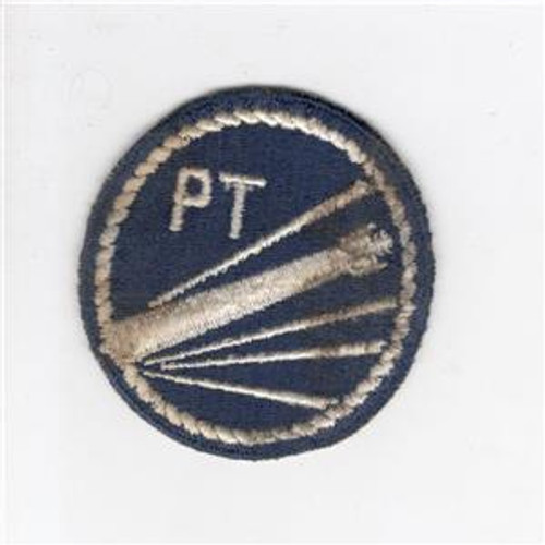 WW 2 US Navy Patrol Torpedo Boat Blue Cotton Patch Inv# J448