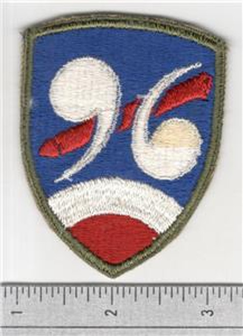 WW 2 US Army 96th Chemical Mortar Battalion Patch Inv# S435