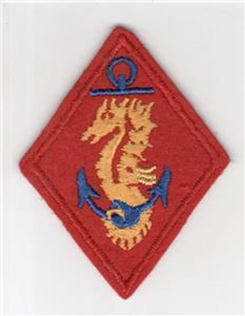 WW 2 USMC United States Marines Ship Detachments Wool Patch Inv# M962