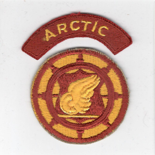 US Army Transportation Terminal Command Patch & ARCTIC Tab Inv# X181