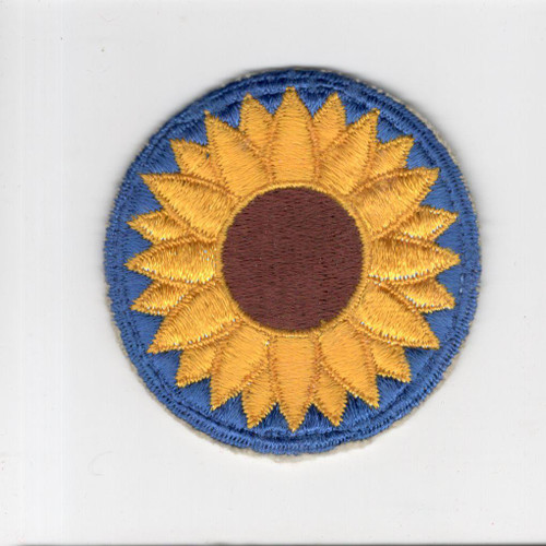 WW 2 Kansas National Guard Patch Inv# F608