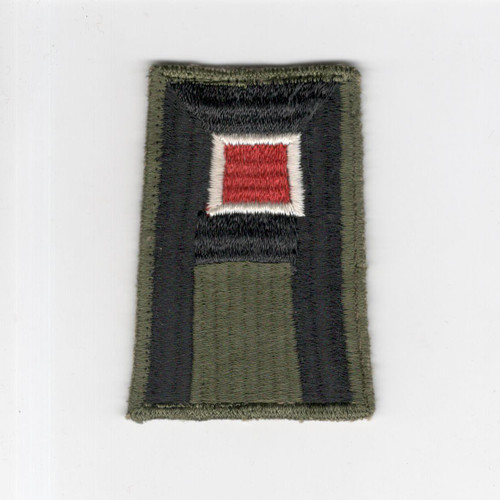 WW 2 US Army 1st Army Engineer Cheese Cloth Back Patch Inv# F455