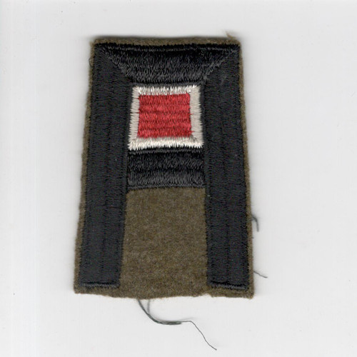 Pre WW 2 US Army 1st Army Engineer Wool Patch Inv# F447