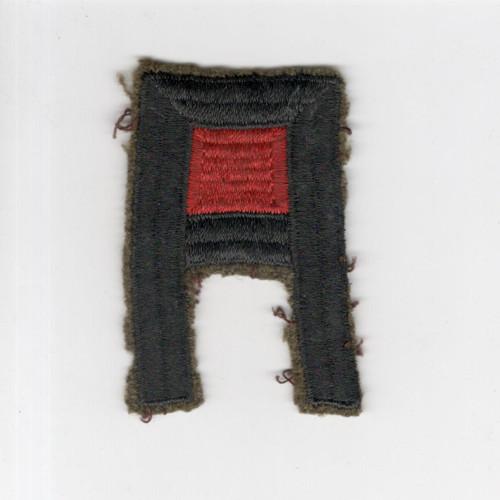 Off Uniform Pre WW 2 US Army 1st Army Artillery Wool Patch Inv# F458