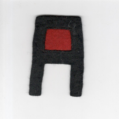 Pre WW 2 US Army 1st Army Artillery Layered Wool Patch Inv# F465