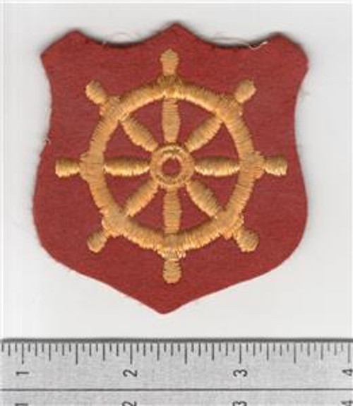 Wool WW 2 US Army Ports of Embarkation Patch Inv# S508