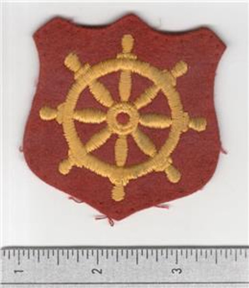 Wool WW 2 US Army Ports of Embarkation Patch Inv# S509