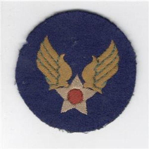 Theater Made AAF Army Air Force WW 2 US Army Air Force Patch Inv# Z667