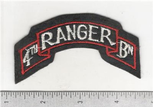 WW 2 US Army 4th Ranger Battalion Patch Inv# B959
