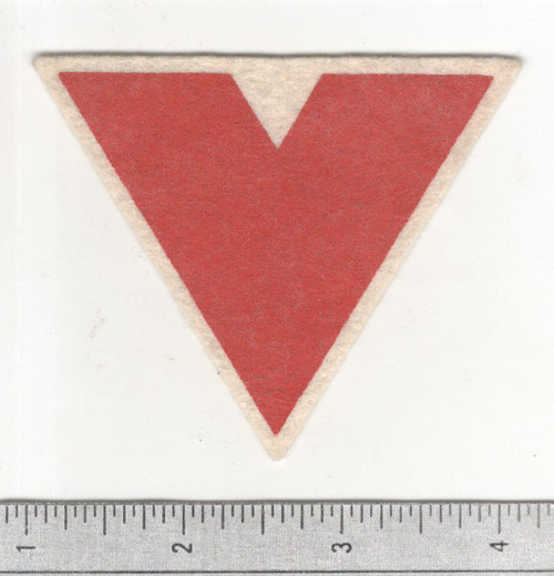WW 2 US Homefront High School Victory Corps Silkscreen on Wool Patch Inv# B957