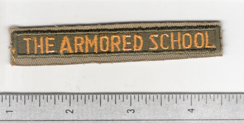 Cut Edge No Glow The Armored School Tab Inv# B521