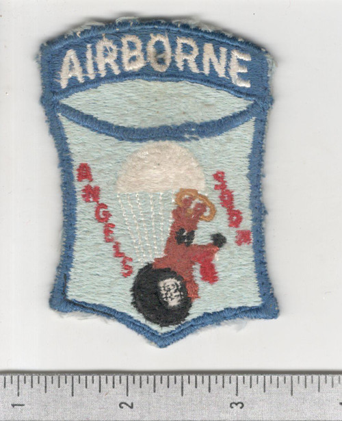 Ultra Rare Theater Made Off Uniform WW 2 511th PIR SOLID Patch Inv# C008