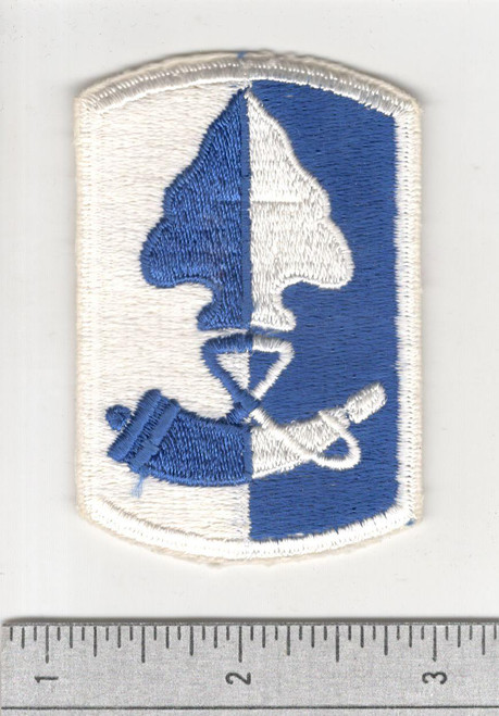 Early 60's Cut Edge No Glow US Army 187th Infantry Brigade Patch Inv# B274