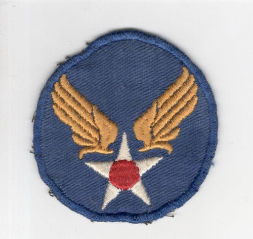 """WW 2 Army Air Force Headquarters Twill 2-1/2"""" Patch Inv# P150"""