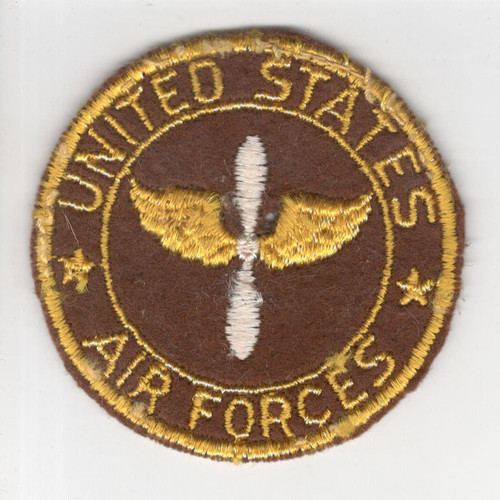 "WW 2 US Army Air Force 2-3/4"" Sweetheart Patch Inv# P754"
