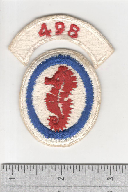 WW 2 US Army 498th Engineer Special Brigade Patch & Tab Inv# S689
