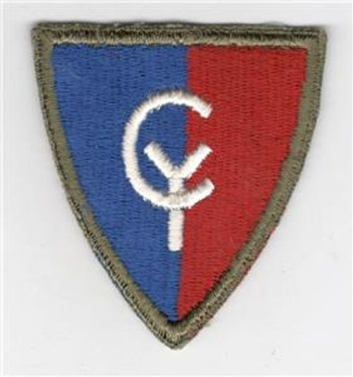 WW 2 US Army 38th Infantry Division Greenback Patch Inv# G477