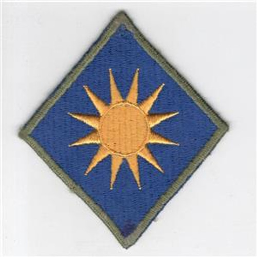 WW 2 US Army 40th Infantry Division OD Border Patch Inv# G507